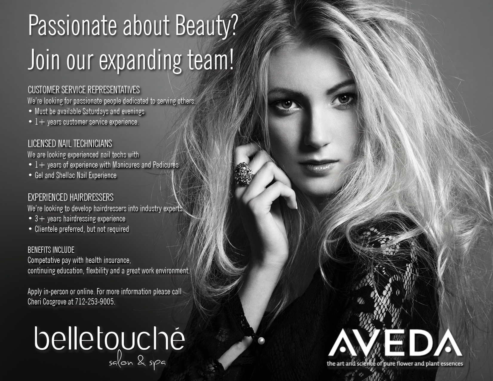 Looking for a fabulous spa or salon job? It begins with belle!