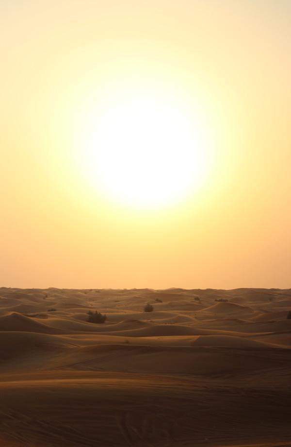 Scorching Sun